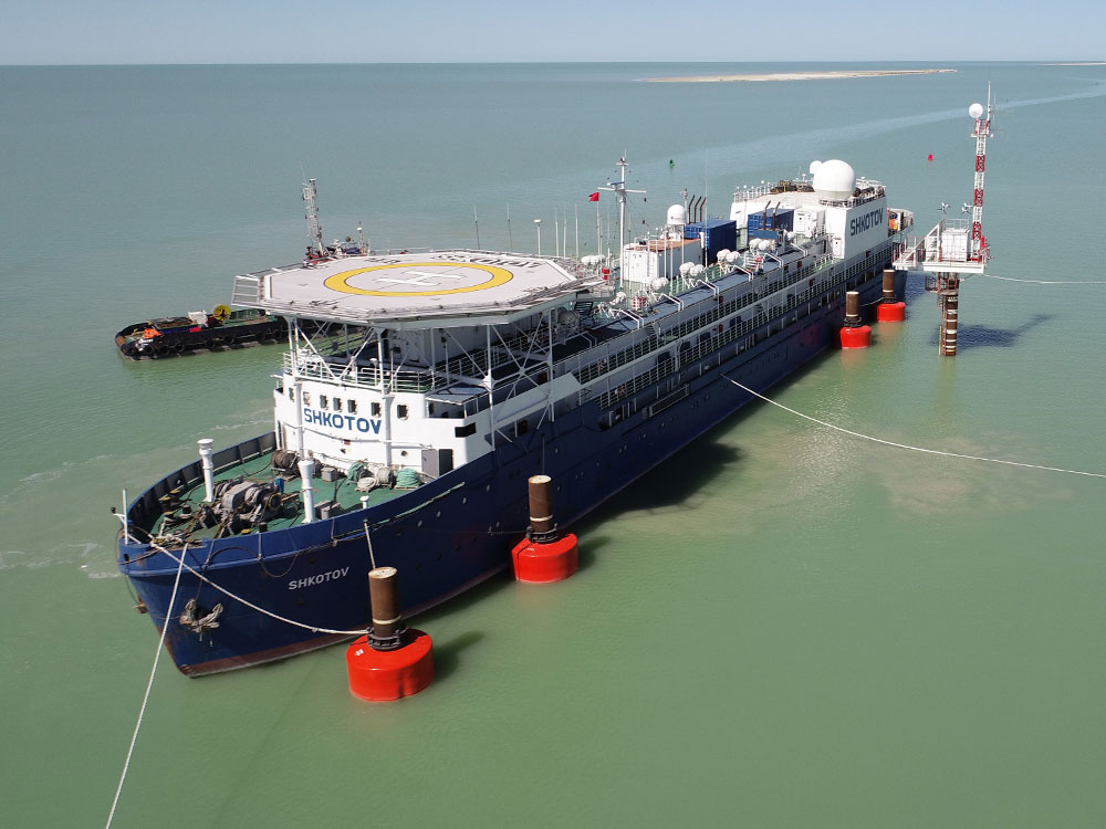 CONTRACT WITH SEMARCO FOR PROVISION OF LQB SHKOTOV